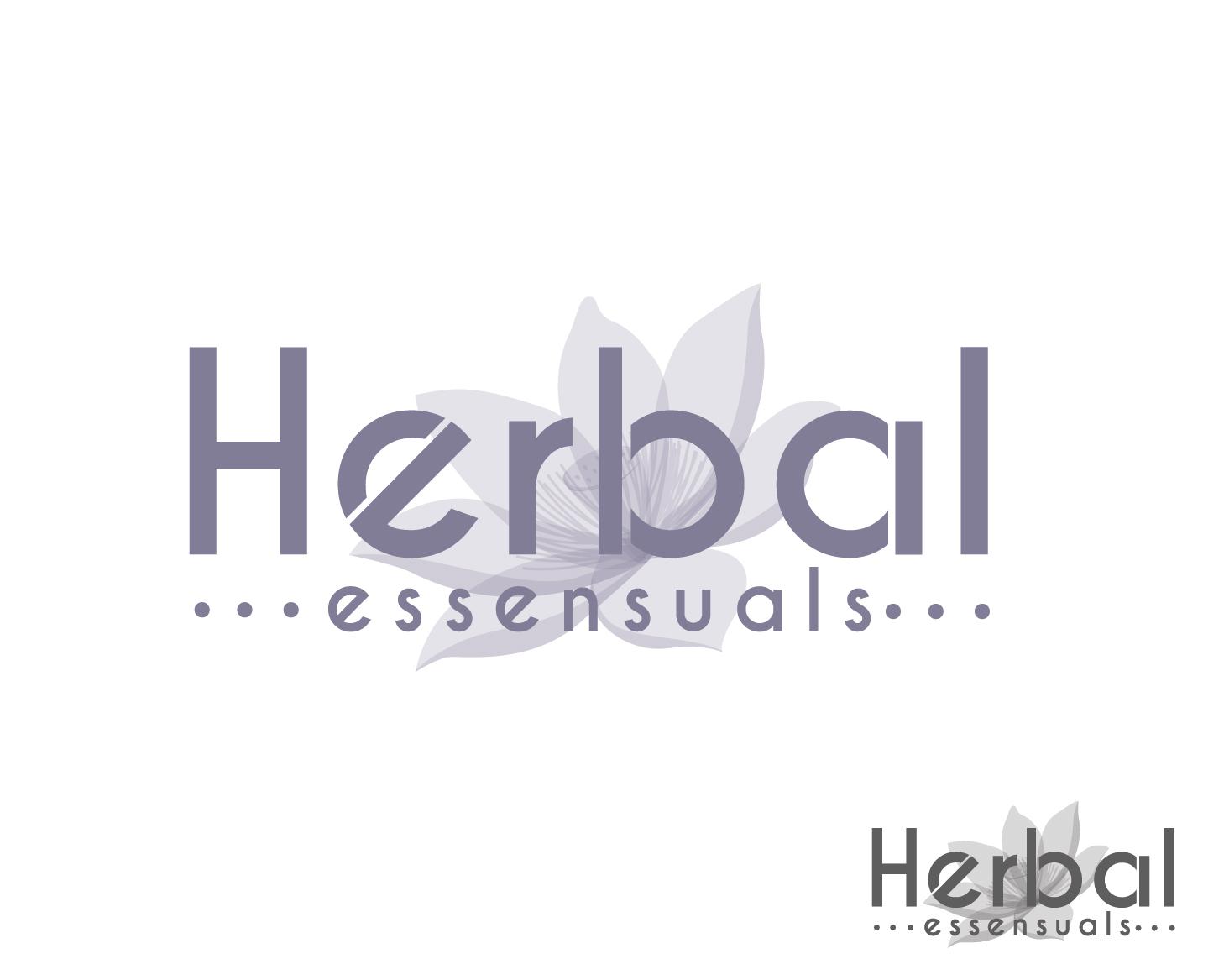 Logo Design by VENTSISLAV KOVACHEV - Entry No. 58 in the Logo Design Contest Captivating Logo Design for Herbal Essensuals.