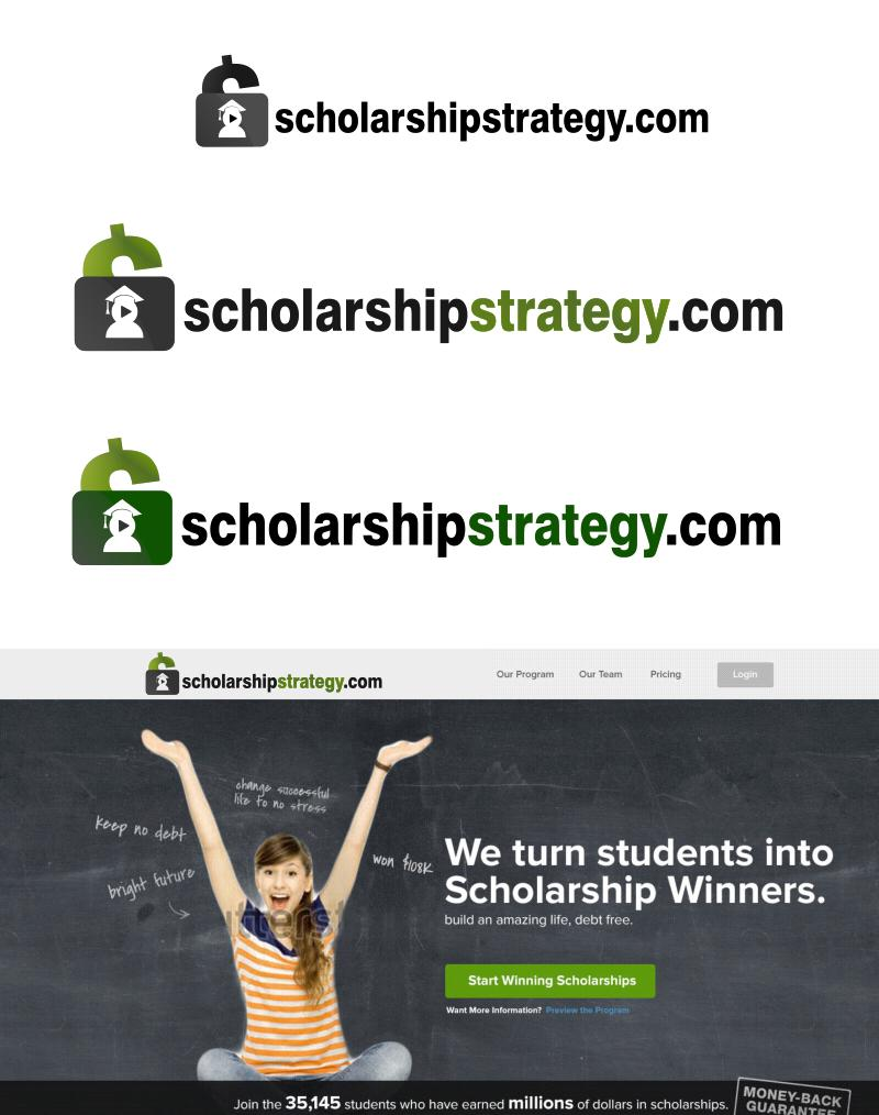 Logo Design by Private User - Entry No. 90 in the Logo Design Contest Captivating Logo Design for Scholarshipstrategy.com.