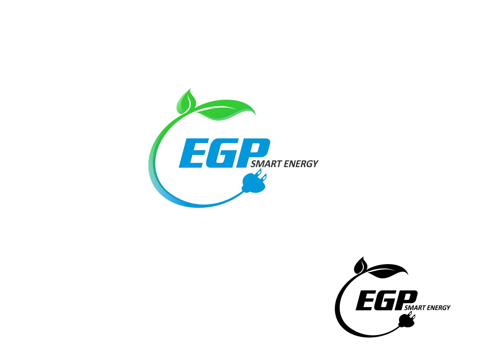 Logo Design by Chris Frederickson - Entry No. 7 in the Logo Design Contest Captivating Logo Design for EGP Smart Energy.