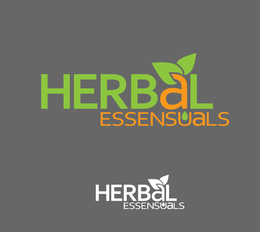 Logo Design by Christina Evans - Entry No. 60 in the Logo Design Contest Captivating Logo Design for Herbal Essensuals.