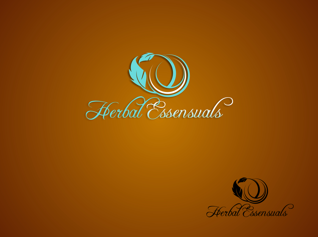 Logo Design by Chris Frederickson - Entry No. 62 in the Logo Design Contest Captivating Logo Design for Herbal Essensuals.