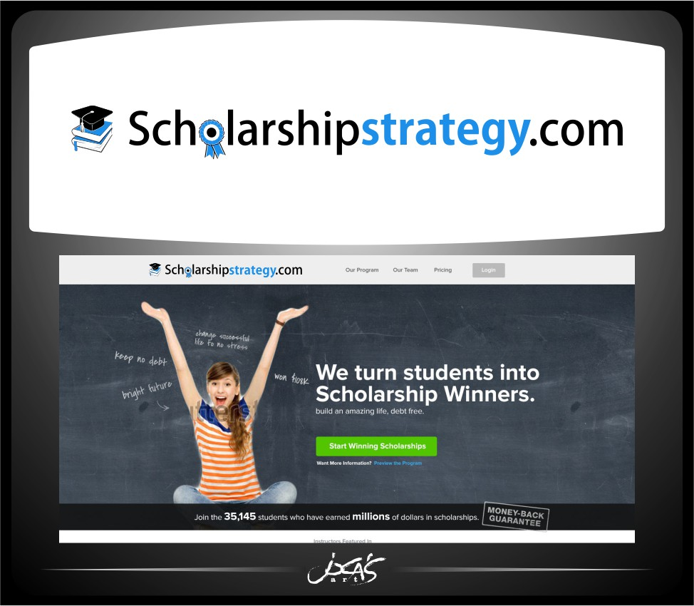 Logo Design by joca - Entry No. 99 in the Logo Design Contest Captivating Logo Design for Scholarshipstrategy.com.