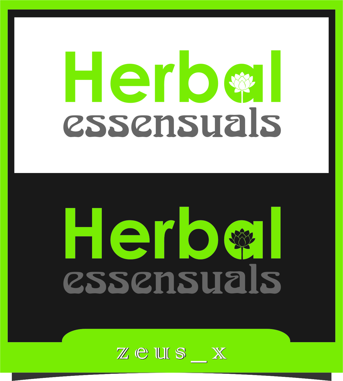 Logo Design by Ngepet_art - Entry No. 64 in the Logo Design Contest Captivating Logo Design for Herbal Essensuals.