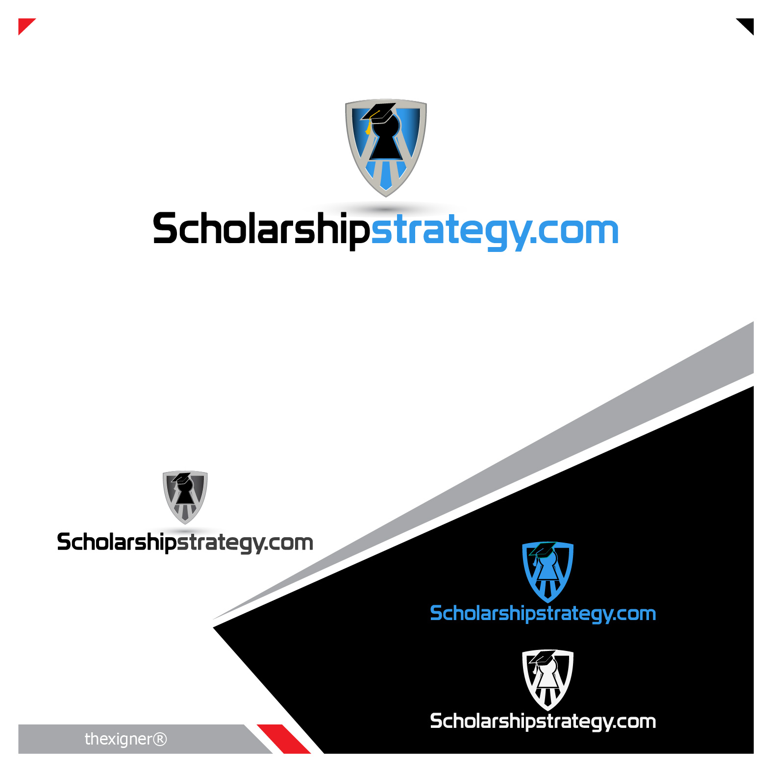 Logo Design by lagalag - Entry No. 100 in the Logo Design Contest Captivating Logo Design for Scholarshipstrategy.com.