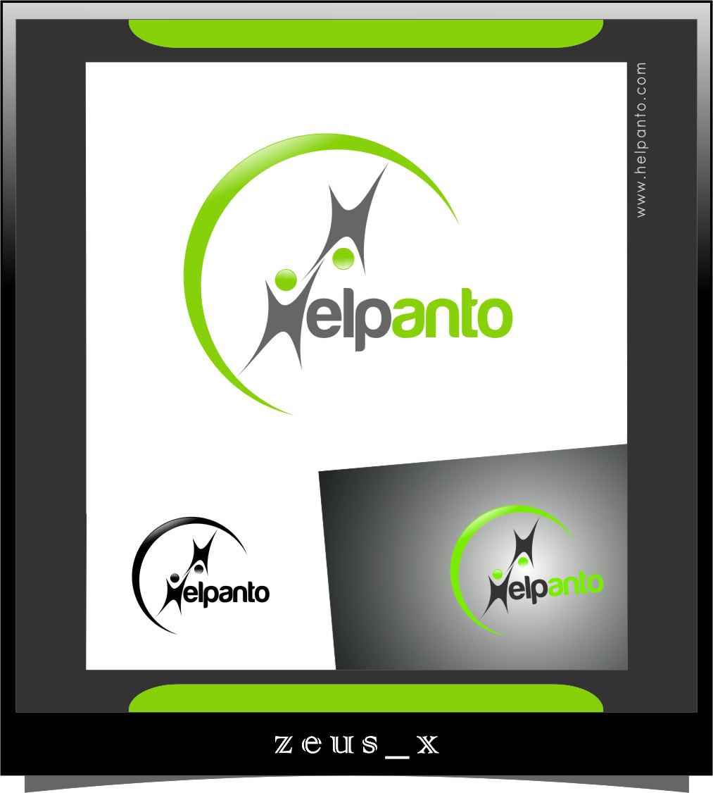 Logo Design by Ngepet_art - Entry No. 120 in the Logo Design Contest Artistic Logo Design for helpanto.