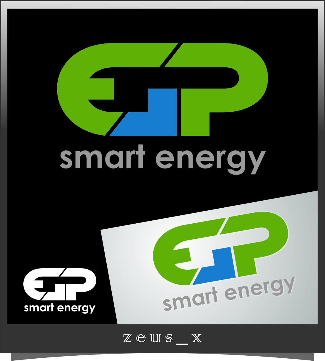 Logo Design by RasYa Muhammad Athaya - Entry No. 11 in the Logo Design Contest Captivating Logo Design for EGP Smart Energy.