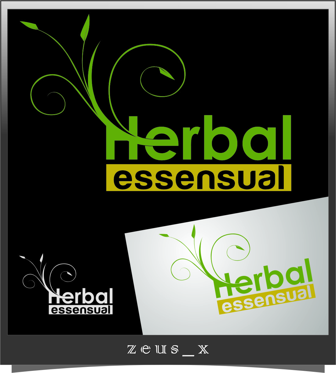 Logo Design by Ngepet_art - Entry No. 66 in the Logo Design Contest Captivating Logo Design for Herbal Essensuals.