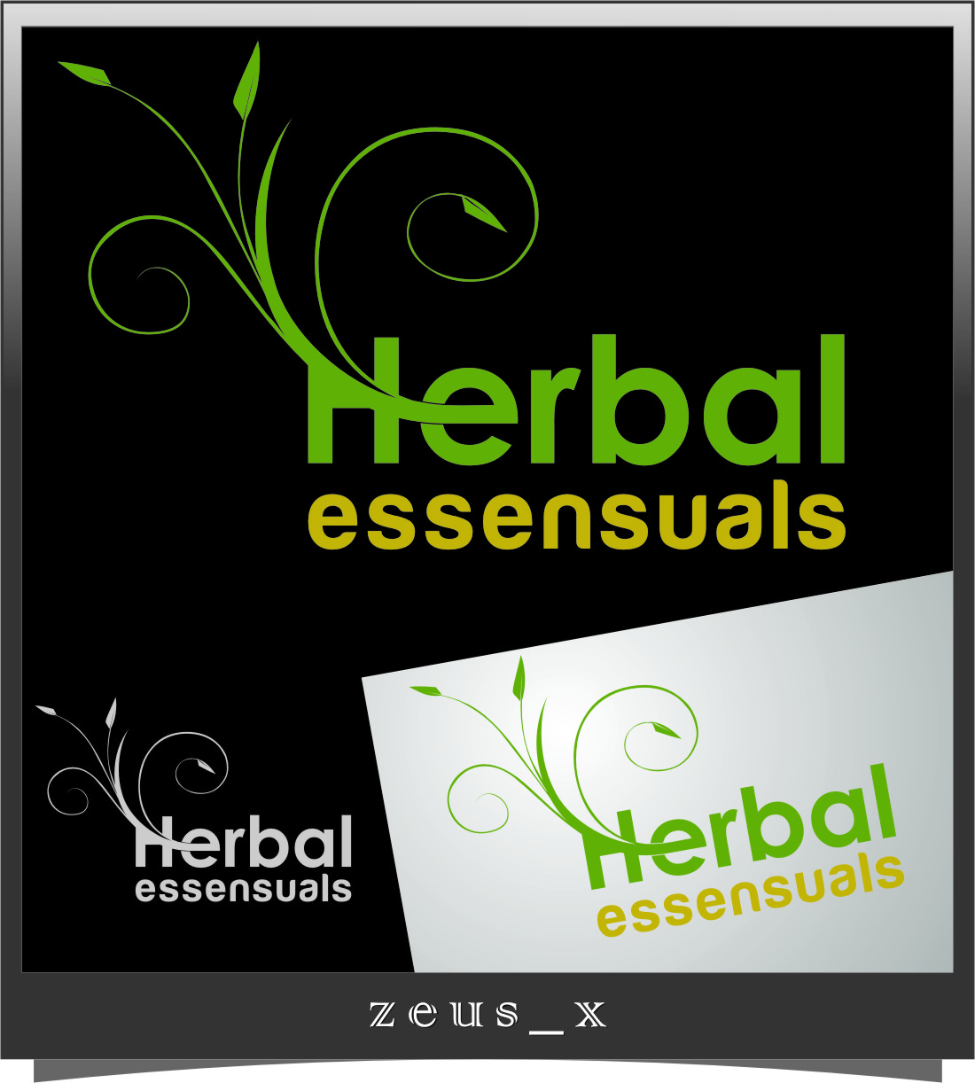 Logo Design by RasYa Muhammad Athaya - Entry No. 67 in the Logo Design Contest Captivating Logo Design for Herbal Essensuals.