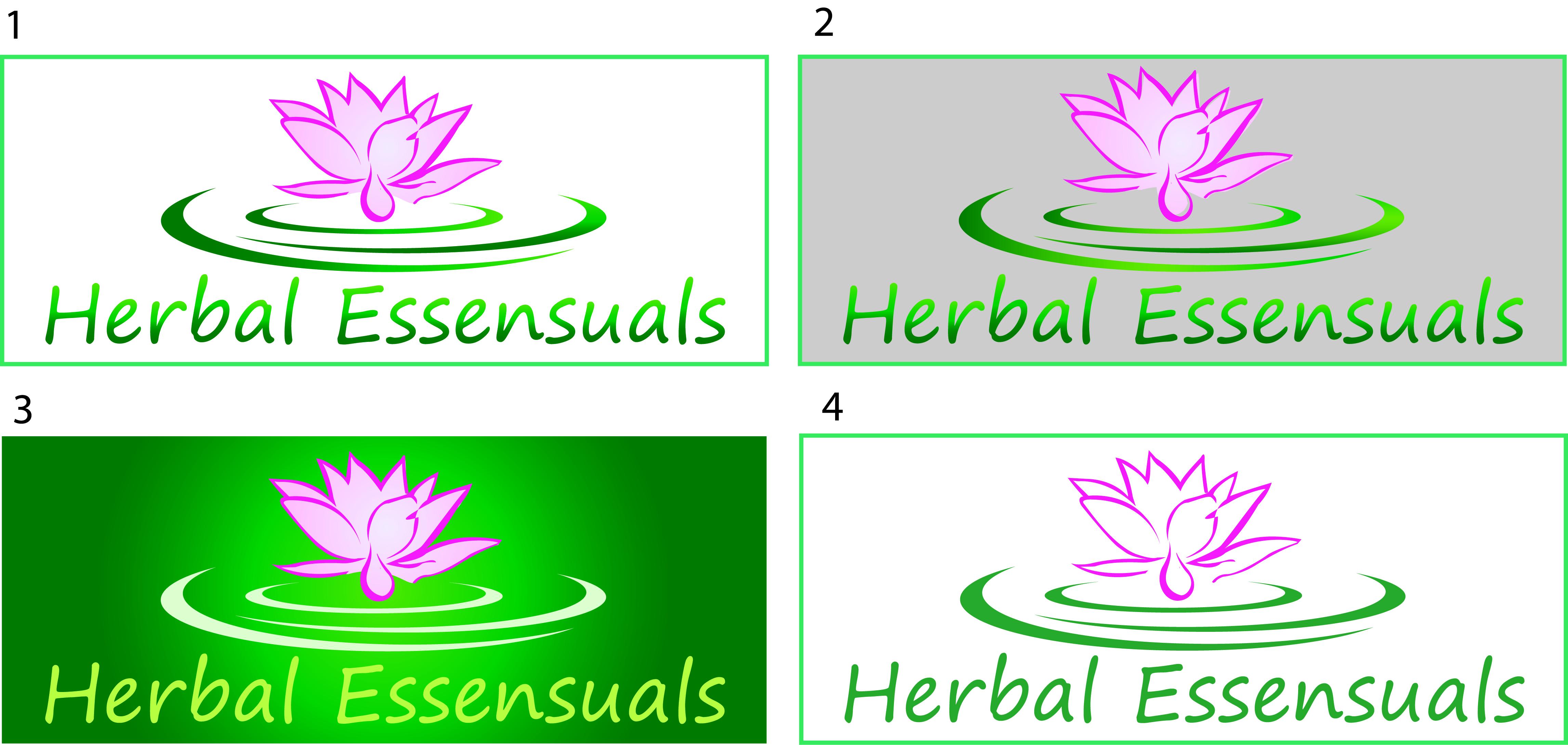 Logo Design by Laren Rabanal - Entry No. 68 in the Logo Design Contest Captivating Logo Design for Herbal Essensuals.