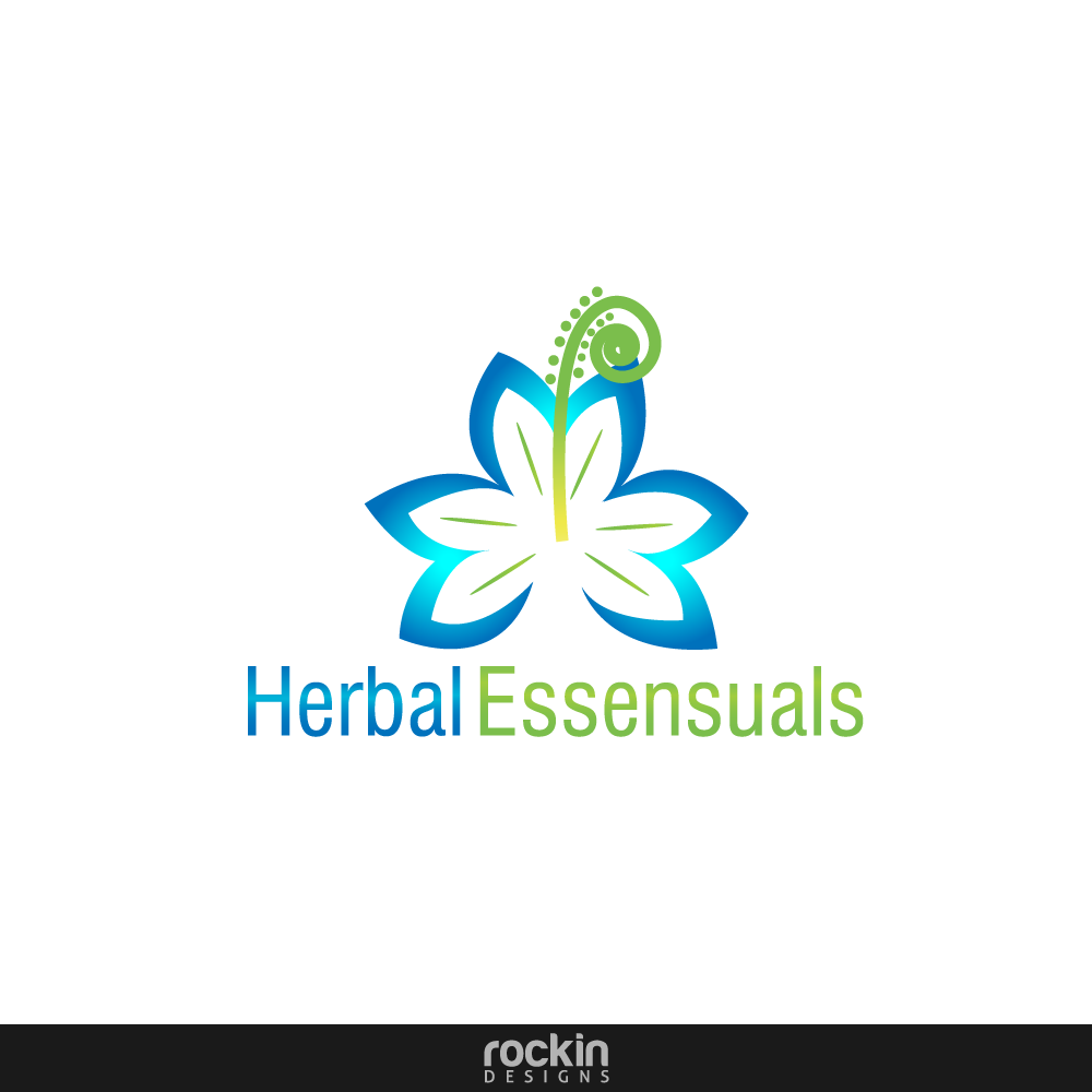 Logo Design by rockin - Entry No. 73 in the Logo Design Contest Captivating Logo Design for Herbal Essensuals.