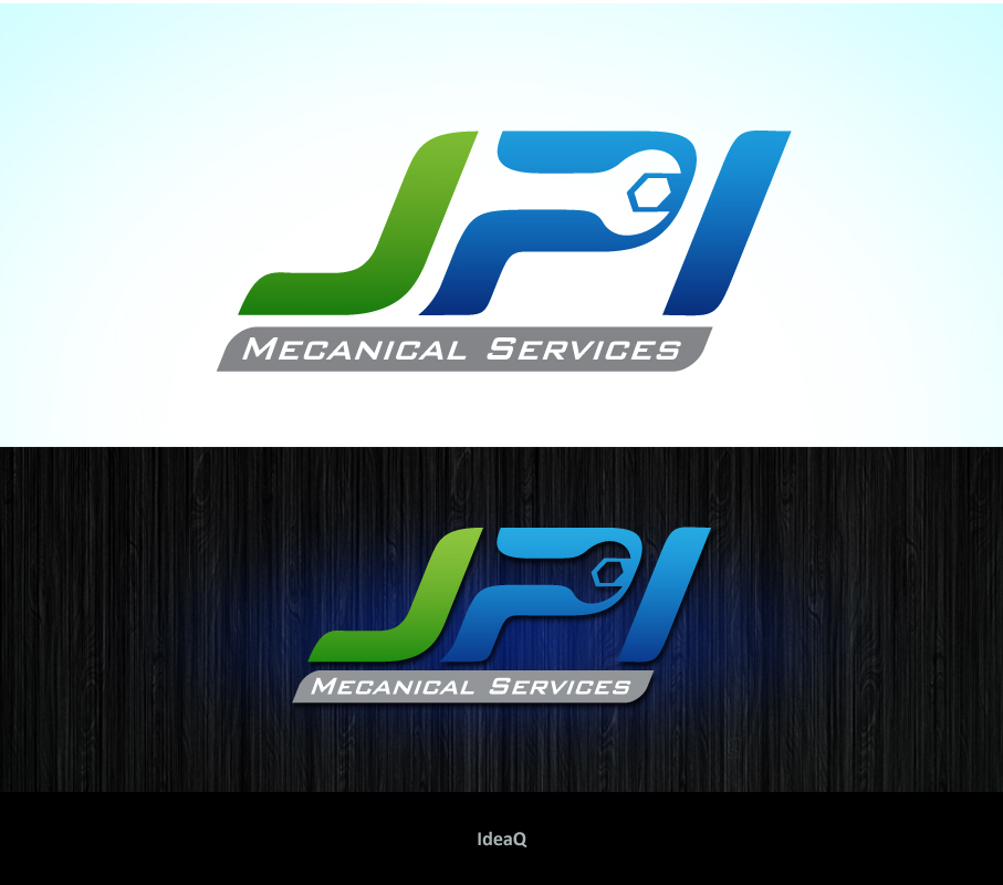 Logo Design by Private User - Entry No. 11 in the Logo Design Contest Inspiring Logo Design for JPI Mecanical Services.