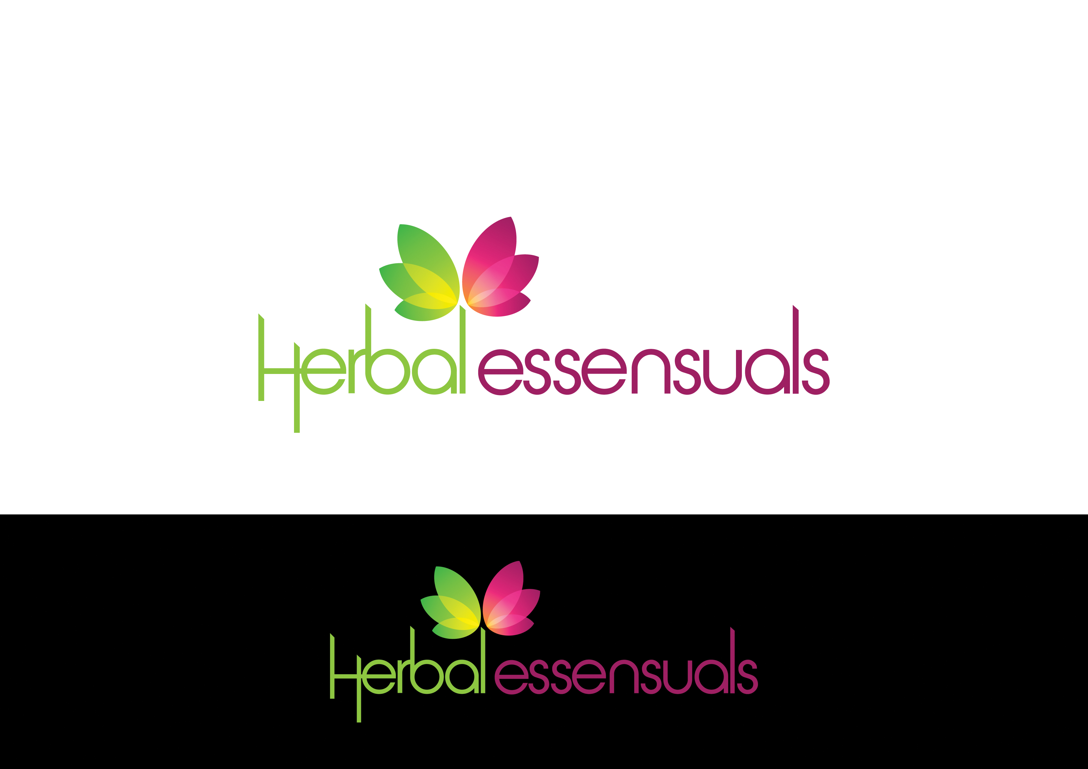 Logo Design by cochinseng - Entry No. 86 in the Logo Design Contest Captivating Logo Design for Herbal Essensuals.