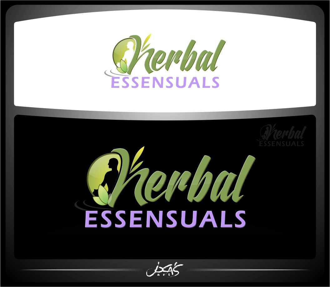 Logo Design by joca - Entry No. 87 in the Logo Design Contest Captivating Logo Design for Herbal Essensuals.