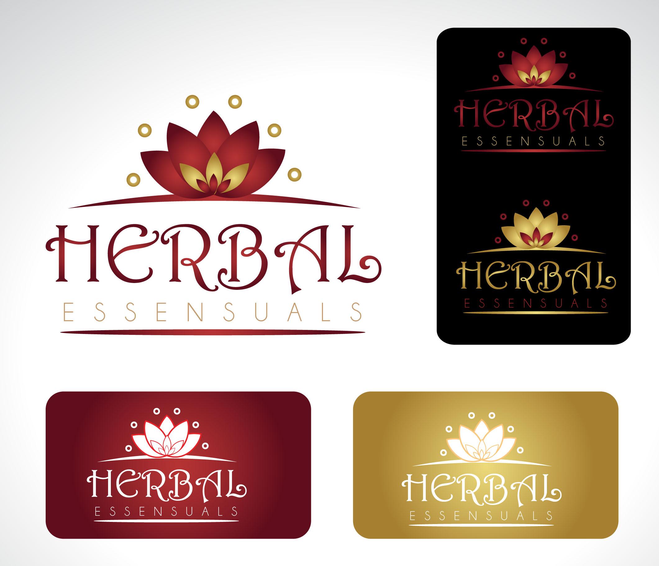 Logo Design by Darina Dimitrova - Entry No. 91 in the Logo Design Contest Captivating Logo Design for Herbal Essensuals.