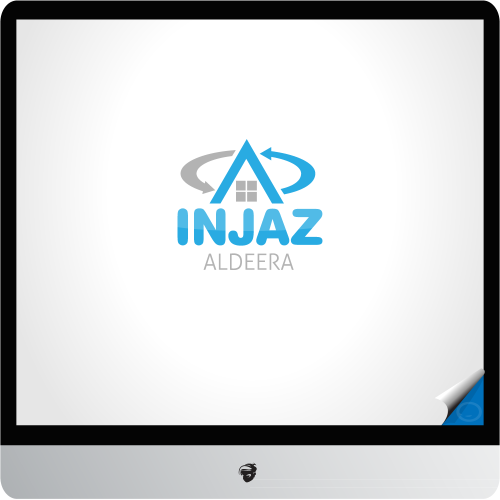 Logo Design by zesthar - Entry No. 28 in the Logo Design Contest Fun Logo Design for Injaz aldeera.