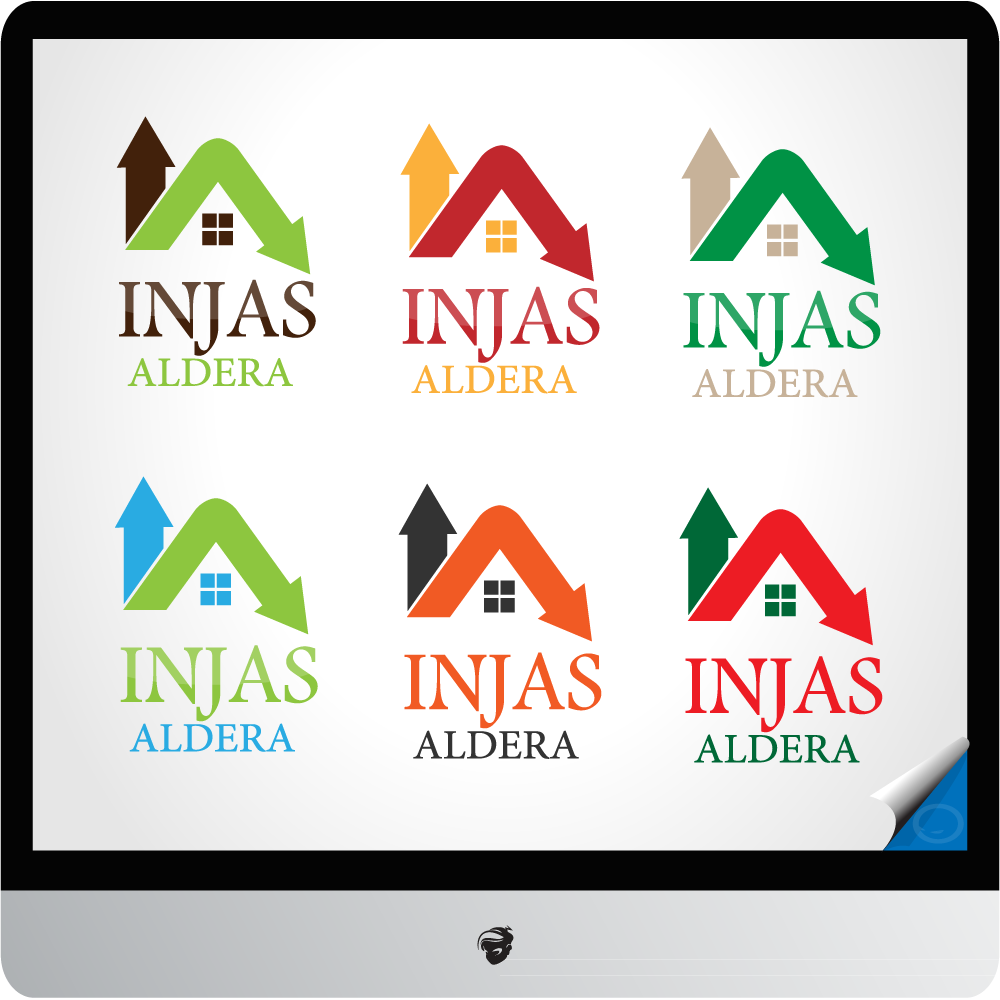Logo Design by zesthar - Entry No. 30 in the Logo Design Contest Fun Logo Design for Injaz aldeera.