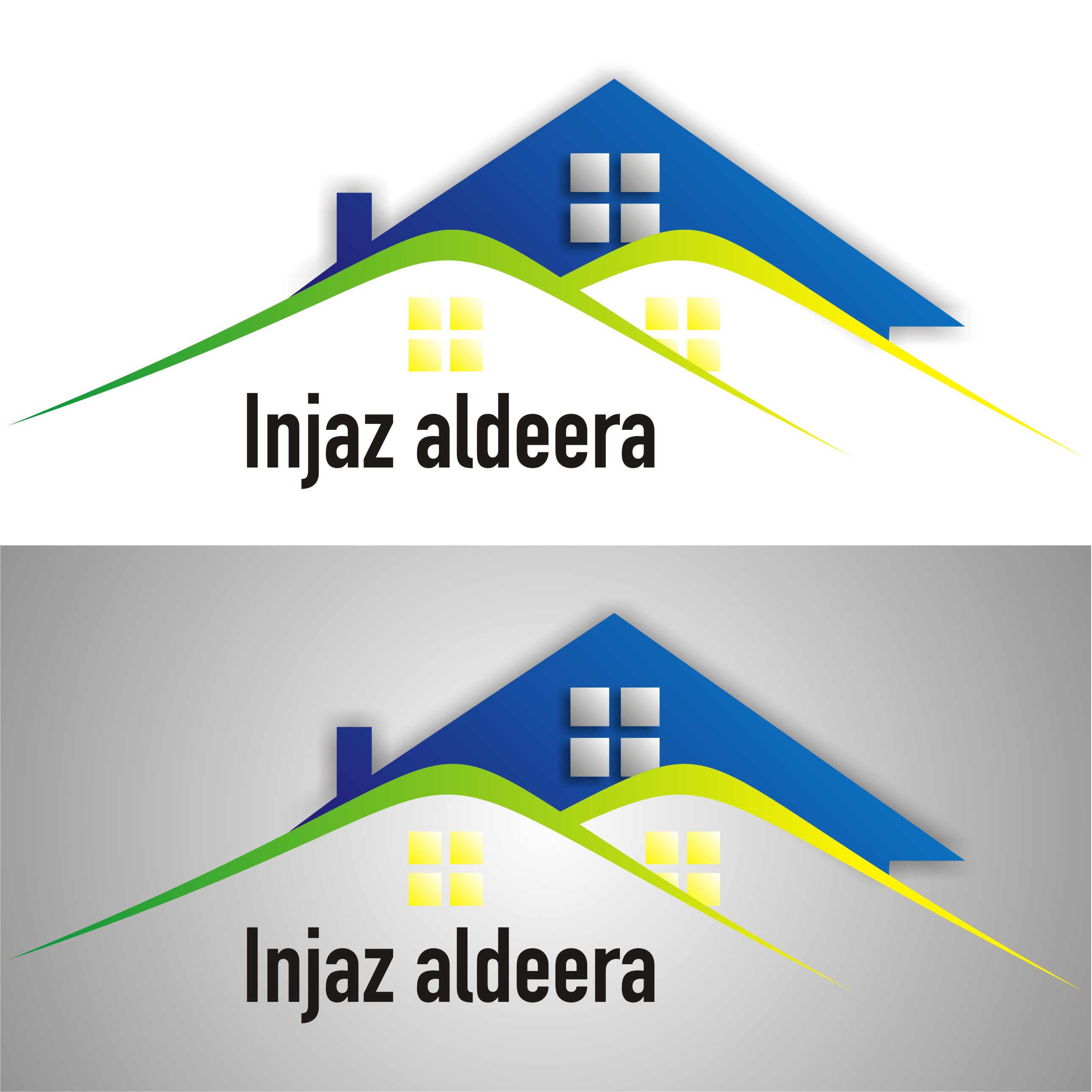 Logo Design by RIzal Sánchez - Entry No. 31 in the Logo Design Contest Fun Logo Design for Injaz aldeera.