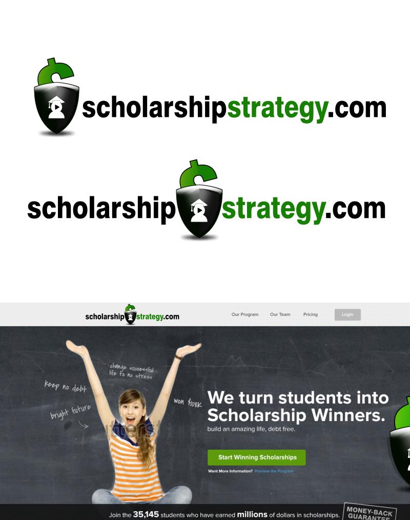 Logo Design by Private User - Entry No. 117 in the Logo Design Contest Captivating Logo Design for Scholarshipstrategy.com.