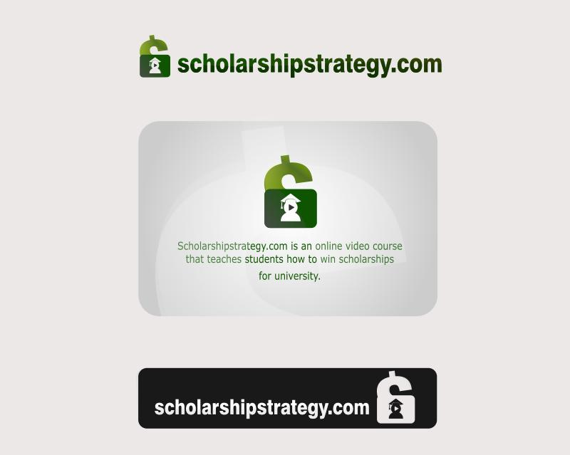 Logo Design by Private User - Entry No. 123 in the Logo Design Contest Captivating Logo Design for Scholarshipstrategy.com.