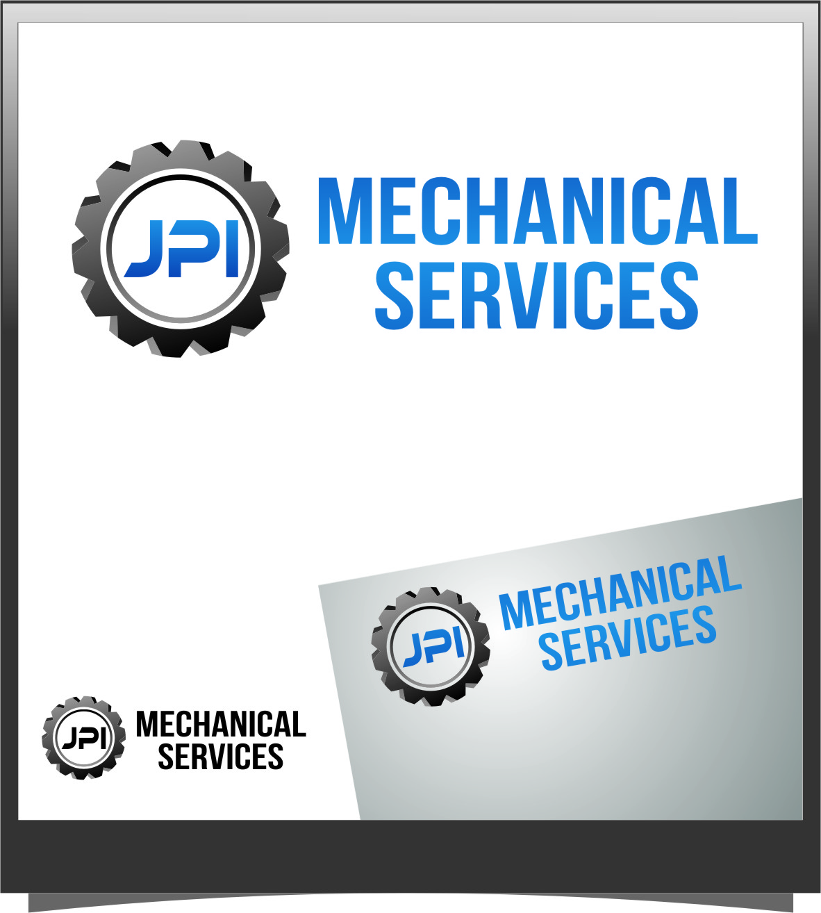 Logo Design by RoSyid Rono-Rene On Java - Entry No. 21 in the Logo Design Contest Inspiring Logo Design for JPI Mecanical Services.