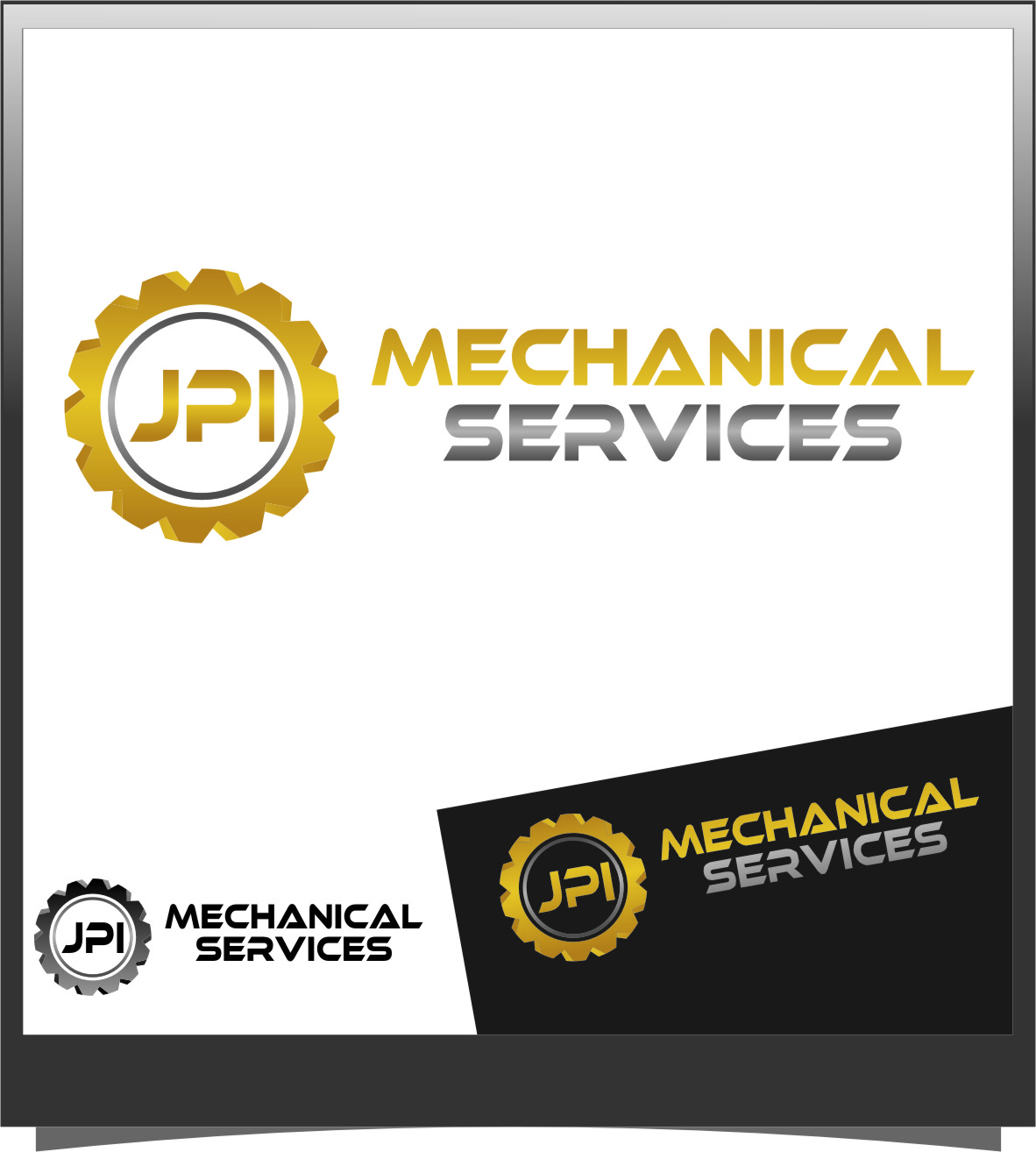 Logo Design by RasYa Muhammad Athaya - Entry No. 22 in the Logo Design Contest Inspiring Logo Design for JPI Mecanical Services.