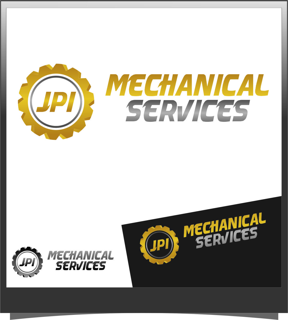 Logo Design by Ngepet_art - Entry No. 23 in the Logo Design Contest Inspiring Logo Design for JPI Mecanical Services.