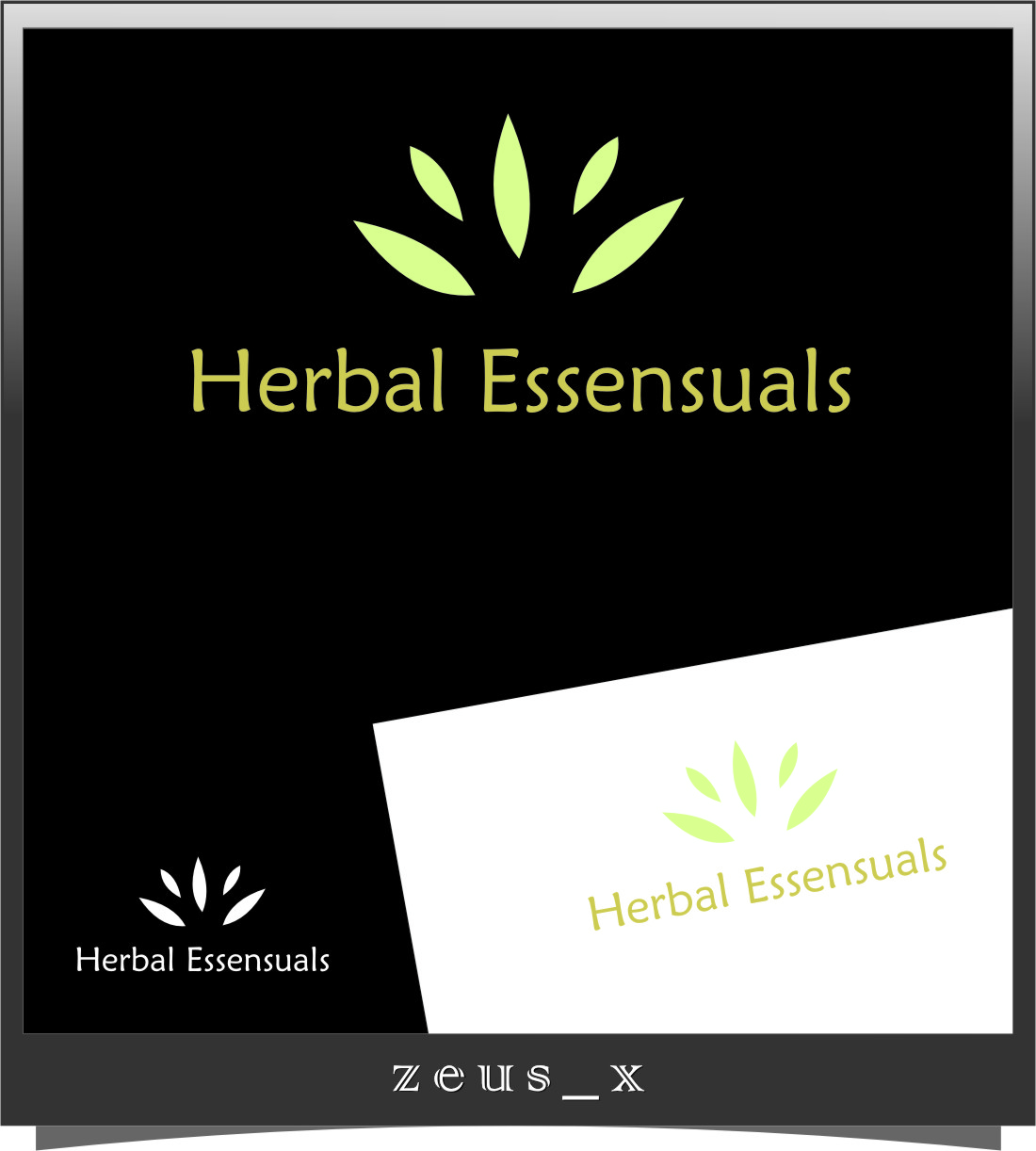 Logo Design by Ngepet_art - Entry No. 100 in the Logo Design Contest Captivating Logo Design for Herbal Essensuals.