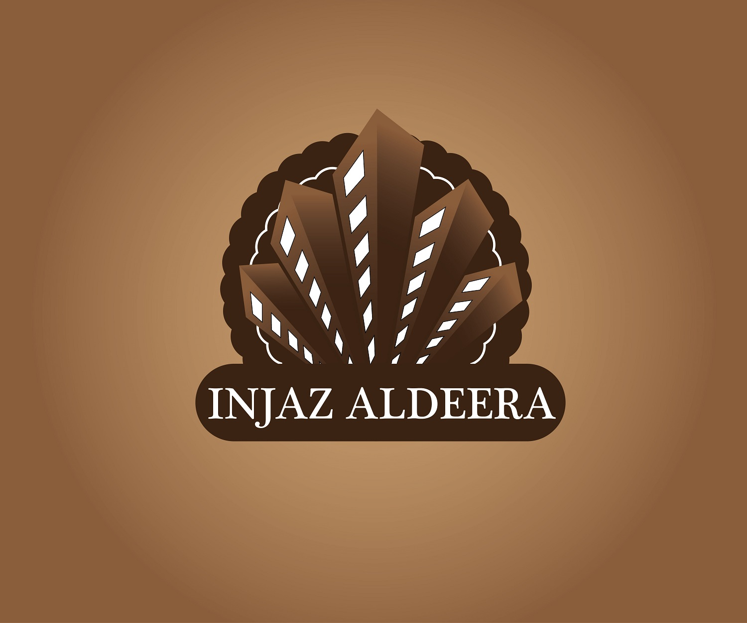 Logo Design by jhunzkie24 - Entry No. 34 in the Logo Design Contest Fun Logo Design for Injaz aldeera.