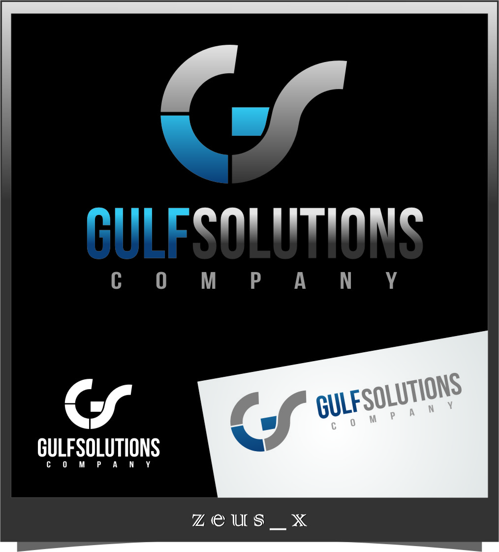 Logo Design by RasYa Muhammad Athaya - Entry No. 46 in the Logo Design Contest New Logo Design for Gulf solutions company.