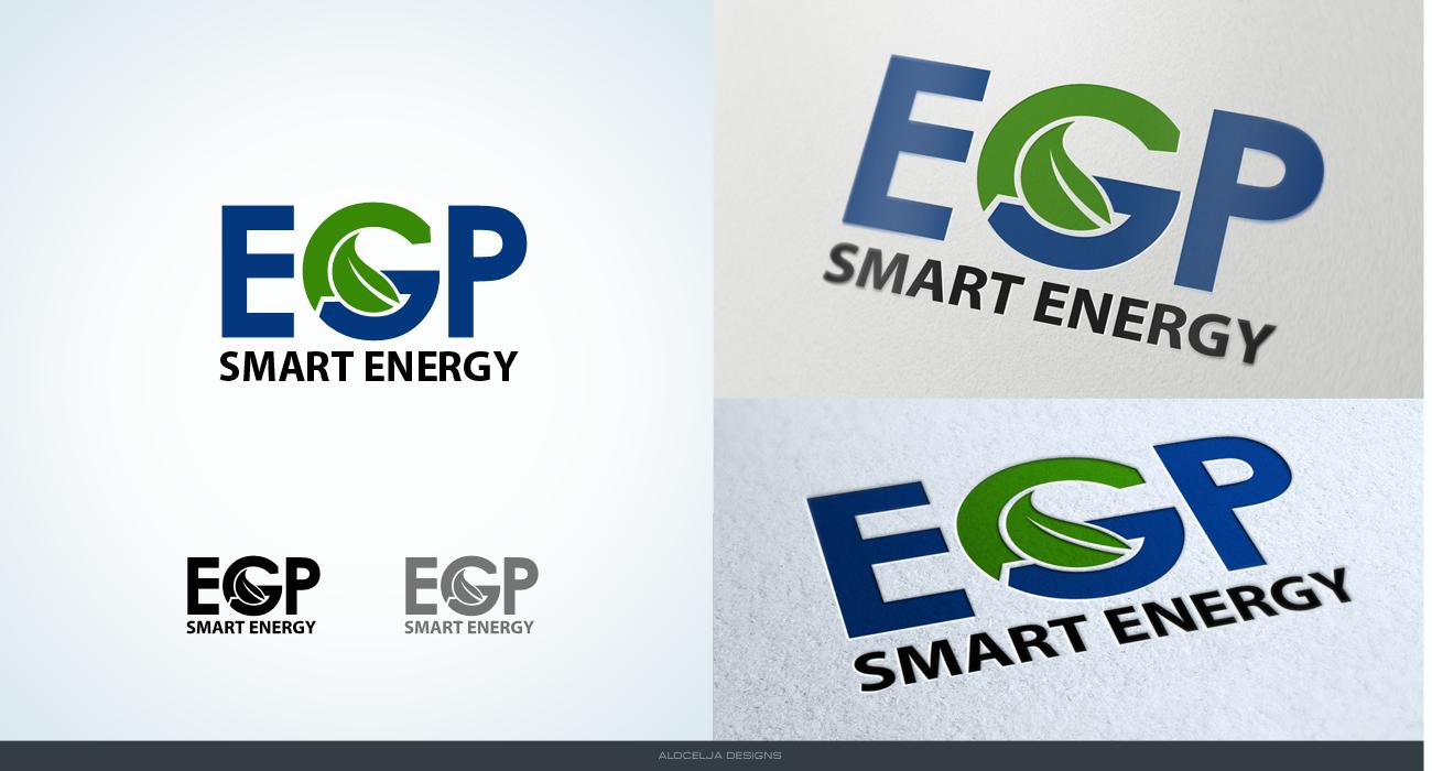 Logo Design by alocelja - Entry No. 26 in the Logo Design Contest Captivating Logo Design for EGP Smart Energy.