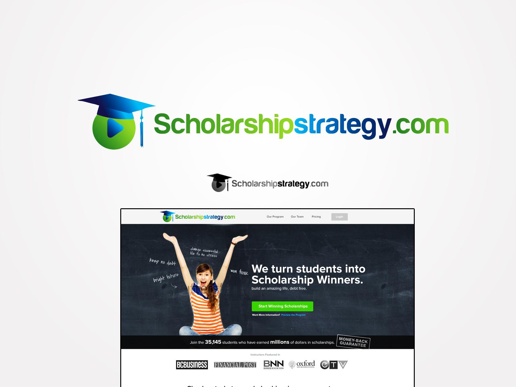 Logo Design by Mythos Designs - Entry No. 144 in the Logo Design Contest Captivating Logo Design for Scholarshipstrategy.com.