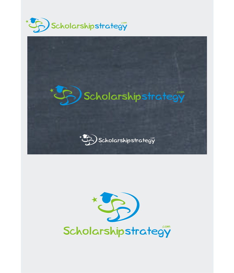 Logo Design by graphicleaf - Entry No. 157 in the Logo Design Contest Captivating Logo Design for Scholarshipstrategy.com.