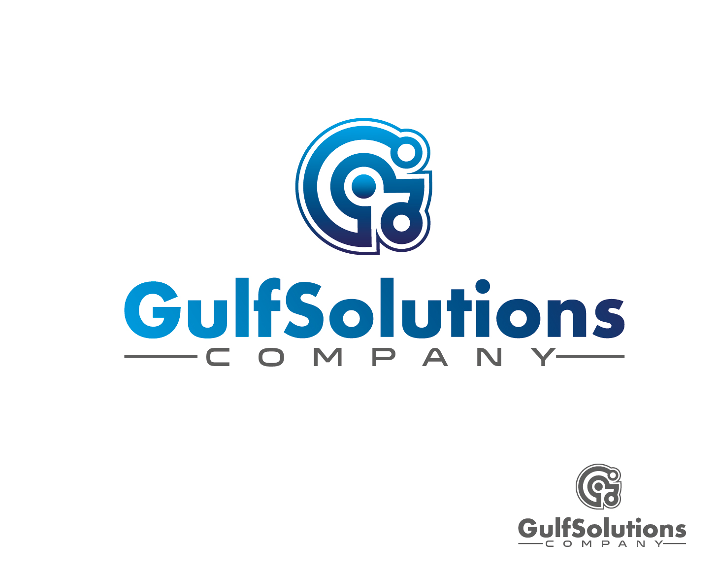 Logo Design by VENTSISLAV KOVACHEV - Entry No. 47 in the Logo Design Contest New Logo Design for Gulf solutions company.