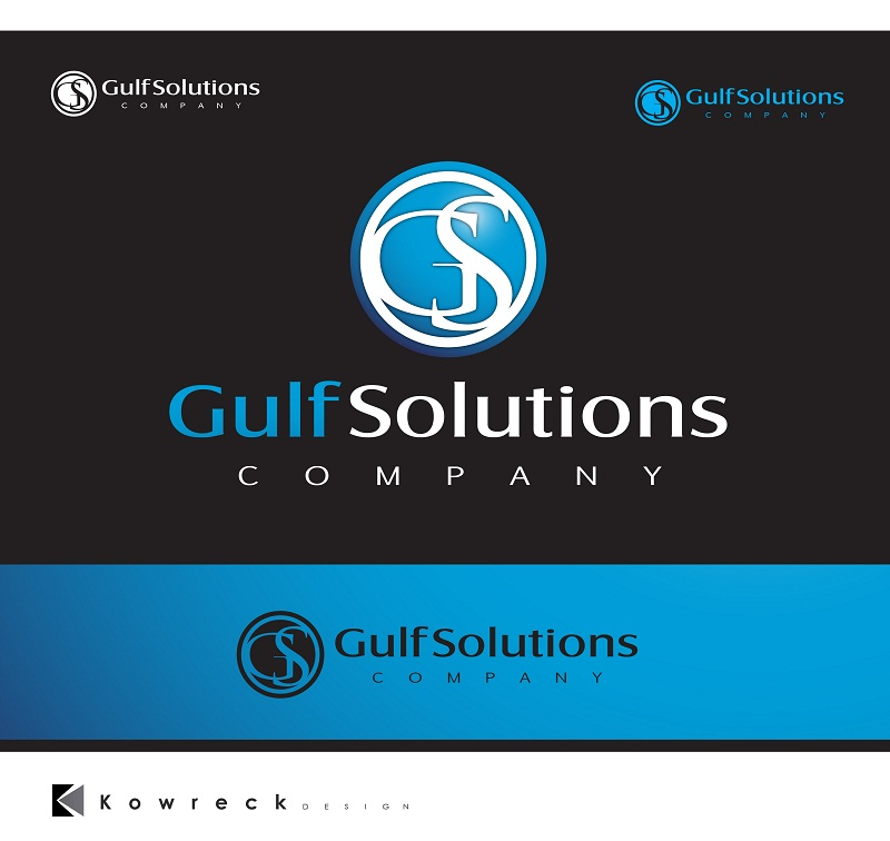 Logo Design by kowreck - Entry No. 51 in the Logo Design Contest New Logo Design for Gulf solutions company.