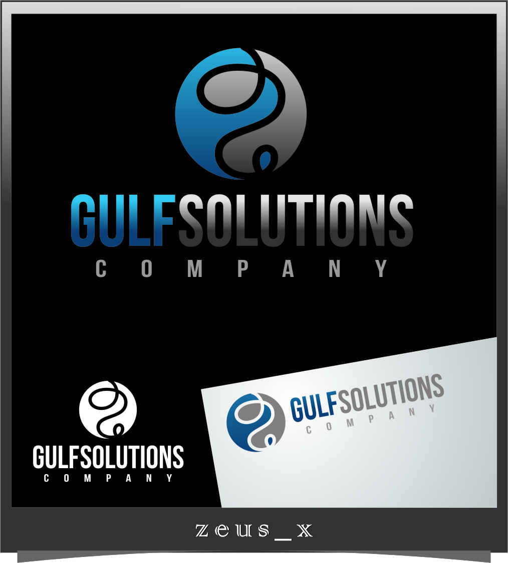 Logo Design by RasYa Muhammad Athaya - Entry No. 52 in the Logo Design Contest New Logo Design for Gulf solutions company.
