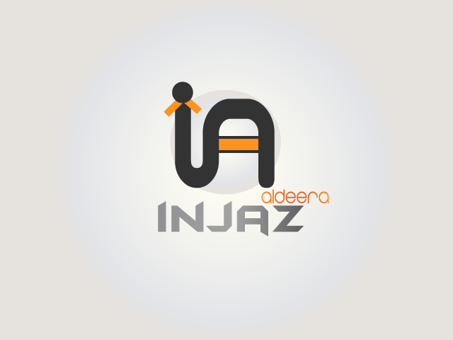 Logo Design by Afechkou Jihad - Entry No. 40 in the Logo Design Contest Fun Logo Design for Injaz aldeera.