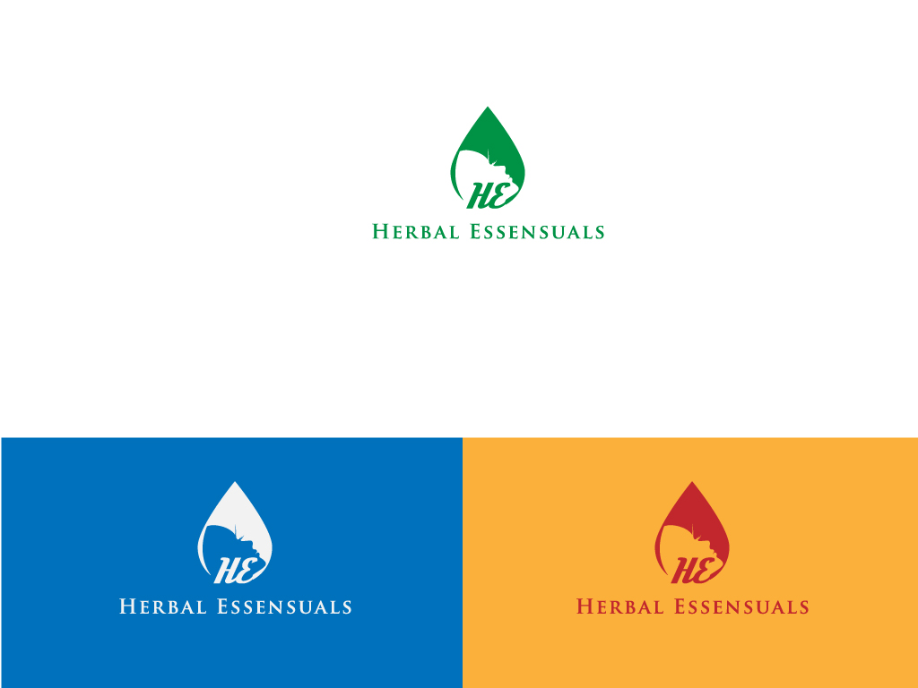 Logo Design by Mehedi Hasan - Entry No. 107 in the Logo Design Contest Captivating Logo Design for Herbal Essensuals.