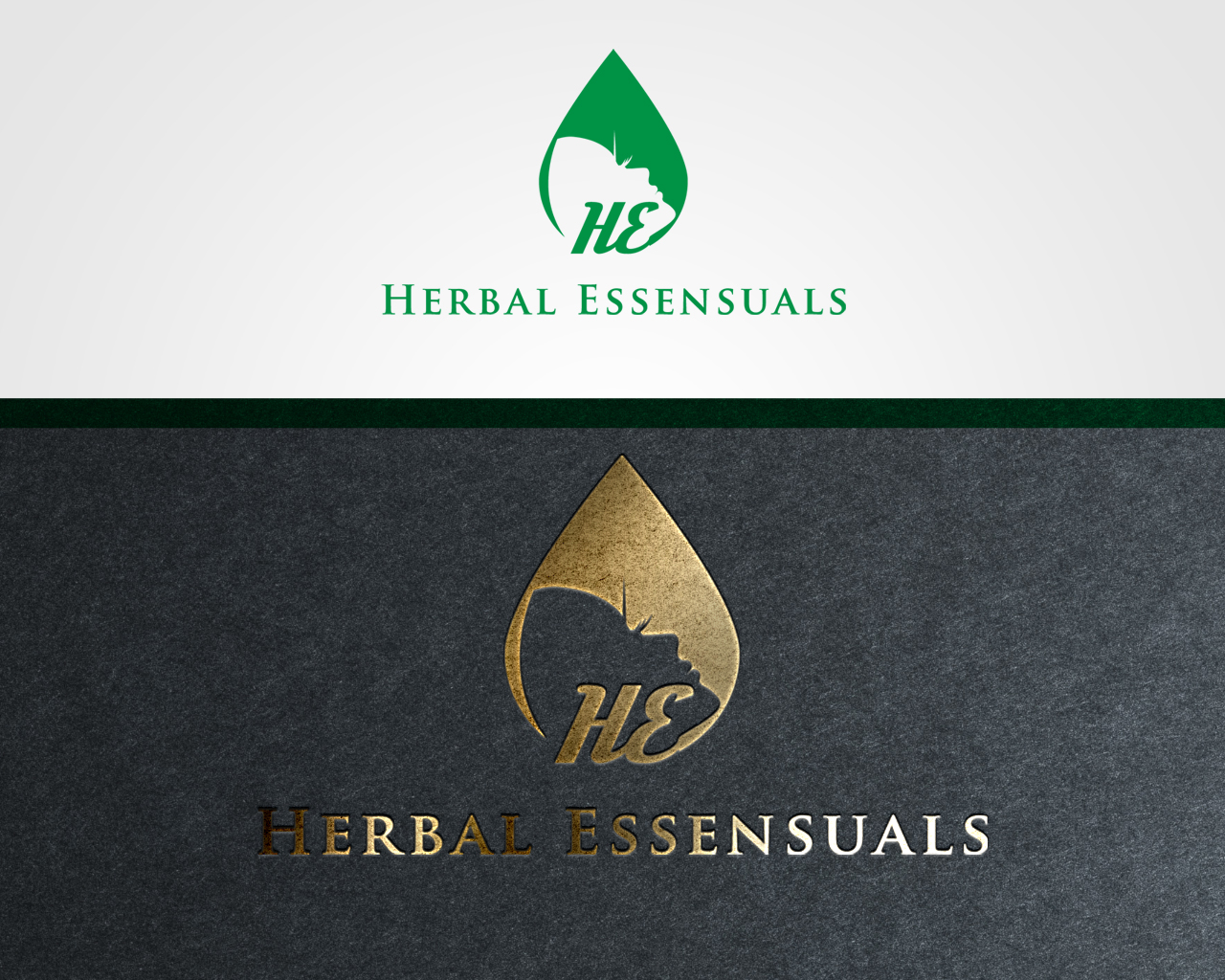 Logo Design by Mehedi Hasan - Entry No. 108 in the Logo Design Contest Captivating Logo Design for Herbal Essensuals.