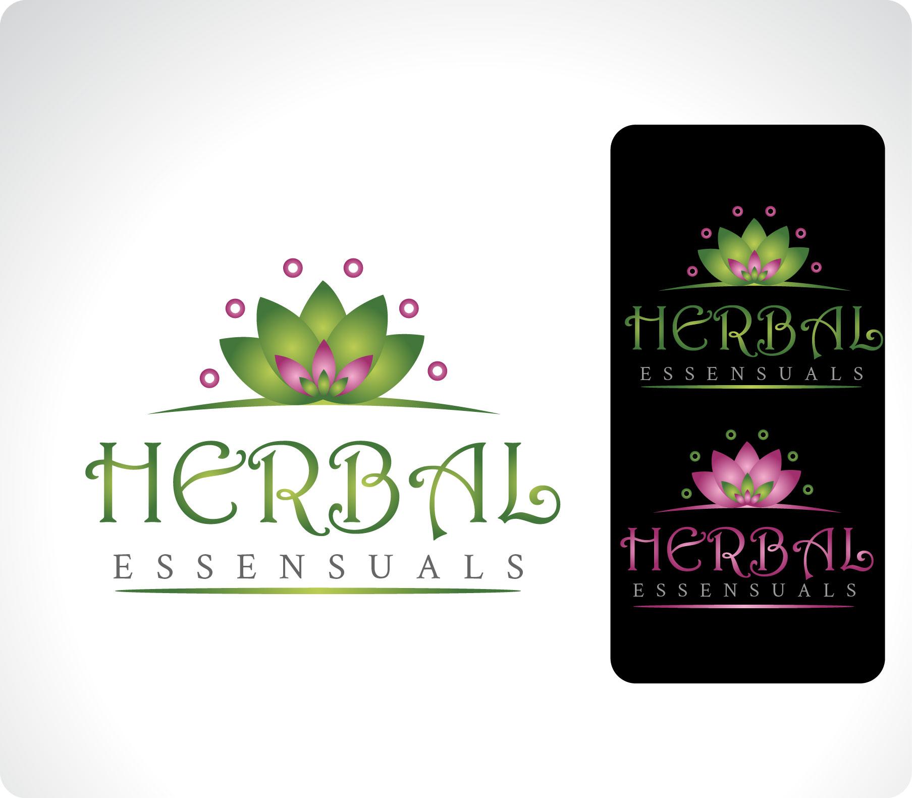 Logo Design by Darina Dimitrova - Entry No. 109 in the Logo Design Contest Captivating Logo Design for Herbal Essensuals.