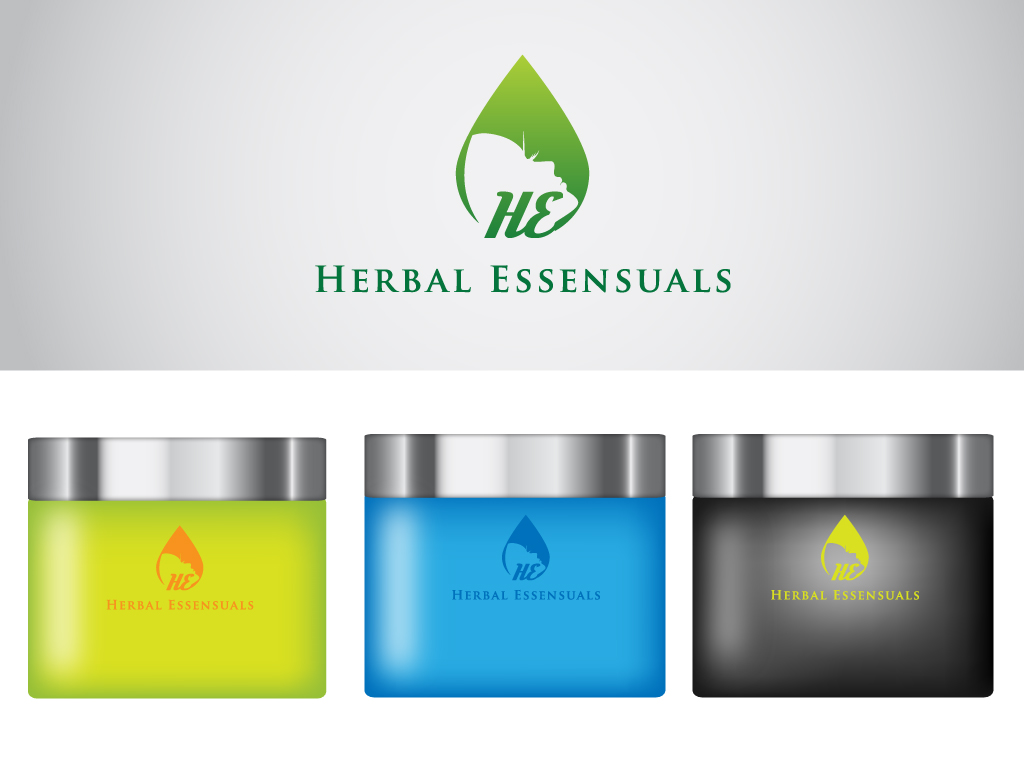 Logo Design by Mehedi Hasan - Entry No. 110 in the Logo Design Contest Captivating Logo Design for Herbal Essensuals.