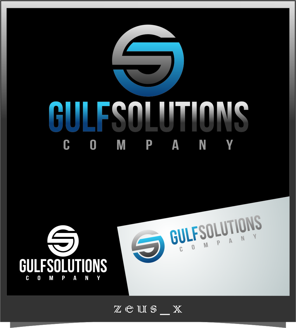 Logo Design by RasYa Muhammad Athaya - Entry No. 57 in the Logo Design Contest New Logo Design for Gulf solutions company.