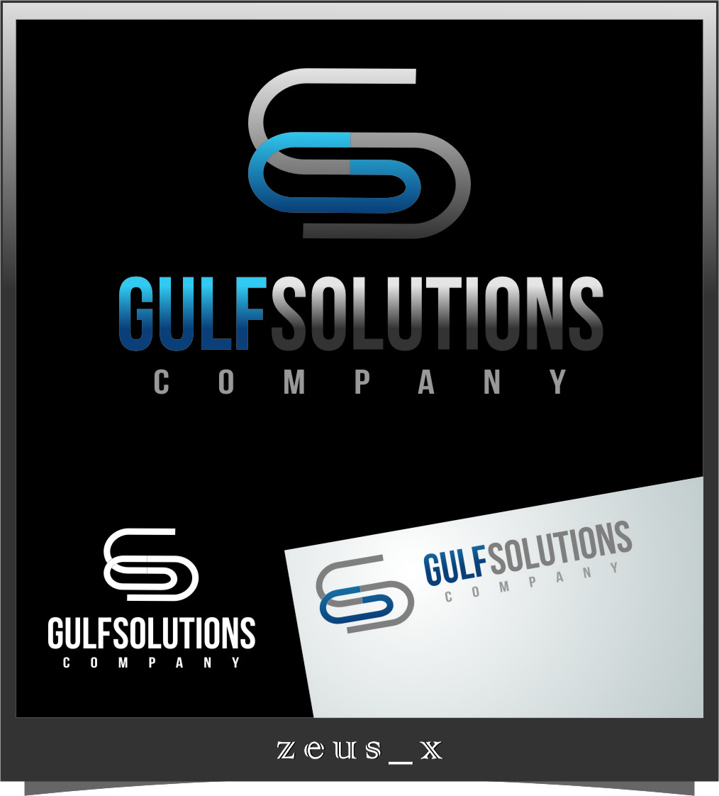 Logo Design by RasYa Muhammad Athaya - Entry No. 58 in the Logo Design Contest New Logo Design for Gulf solutions company.
