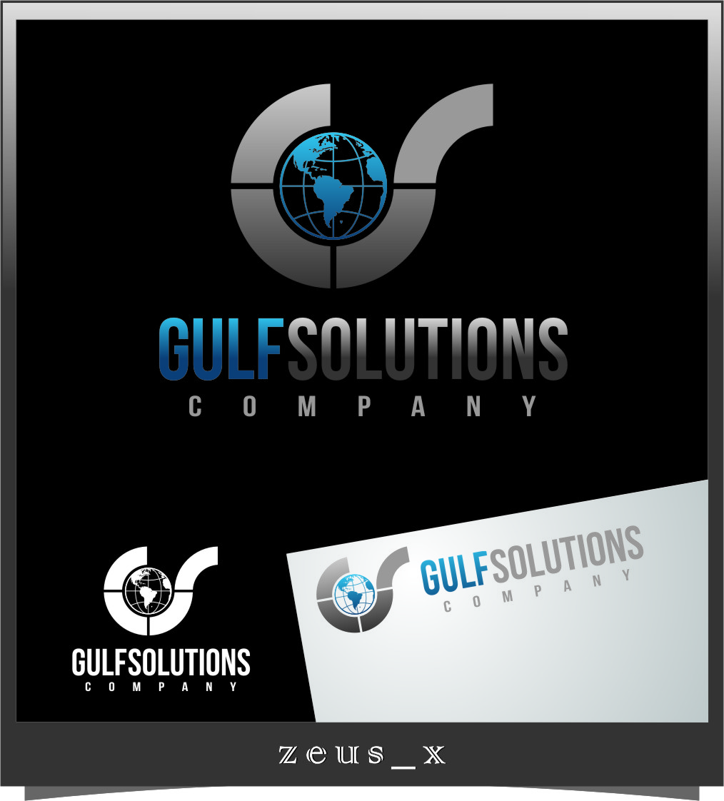 Logo Design by Ngepet_art - Entry No. 59 in the Logo Design Contest New Logo Design for Gulf solutions company.