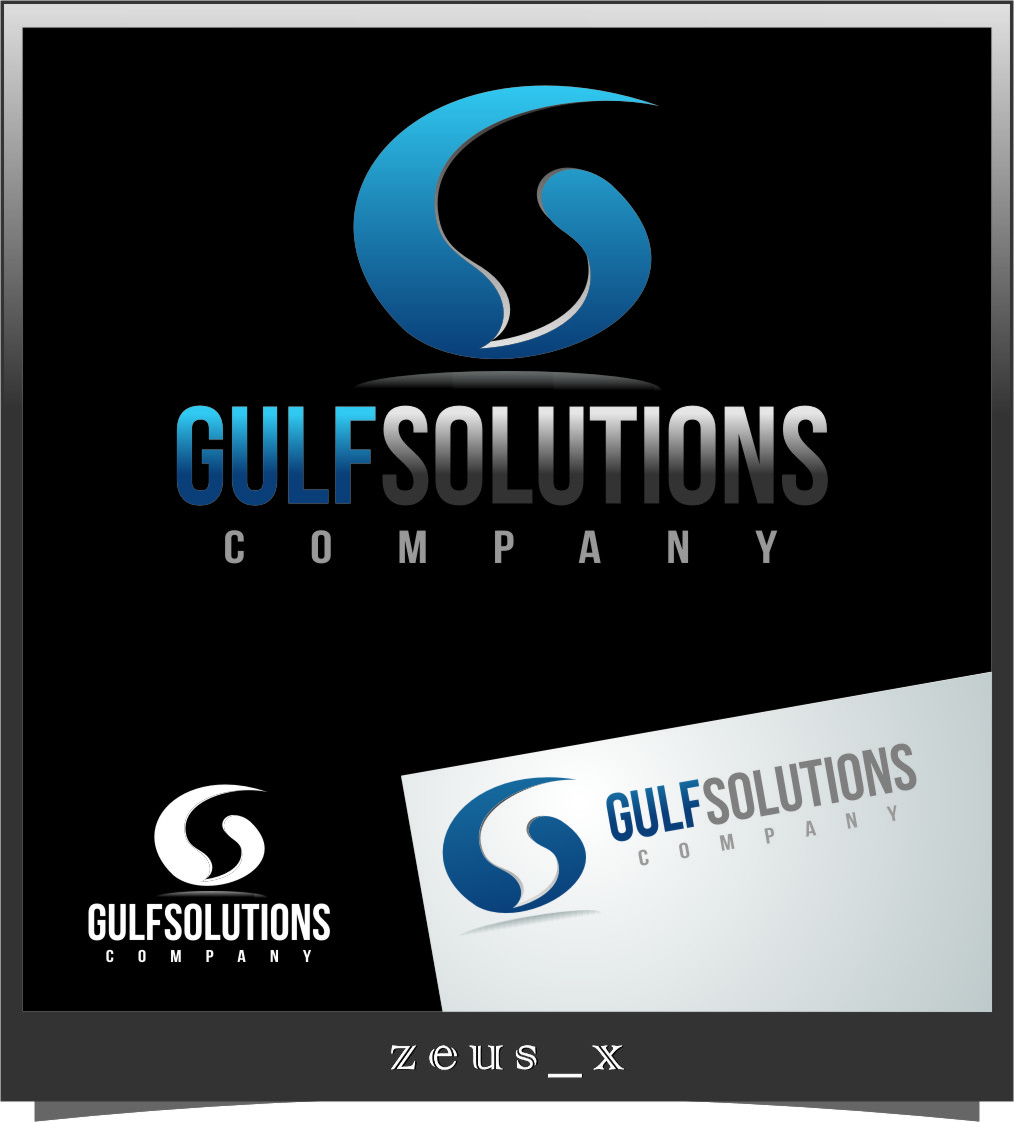 Logo Design by RasYa Muhammad Athaya - Entry No. 60 in the Logo Design Contest New Logo Design for Gulf solutions company.
