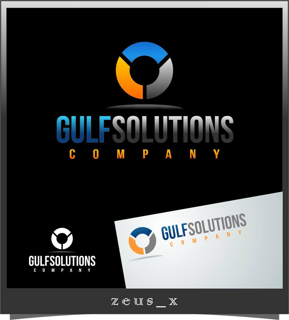 Logo Design by RoSyid Rono-Rene On Java - Entry No. 61 in the Logo Design Contest New Logo Design for Gulf solutions company.