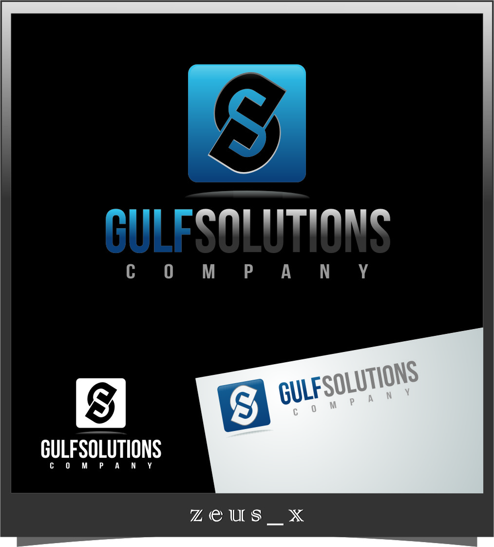 Logo Design by Ngepet_art - Entry No. 62 in the Logo Design Contest New Logo Design for Gulf solutions company.