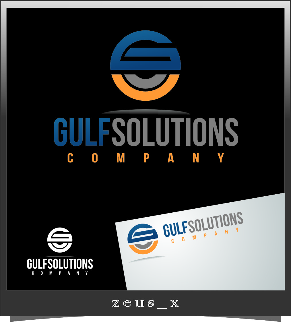 Logo Design by RasYa Muhammad Athaya - Entry No. 63 in the Logo Design Contest New Logo Design for Gulf solutions company.
