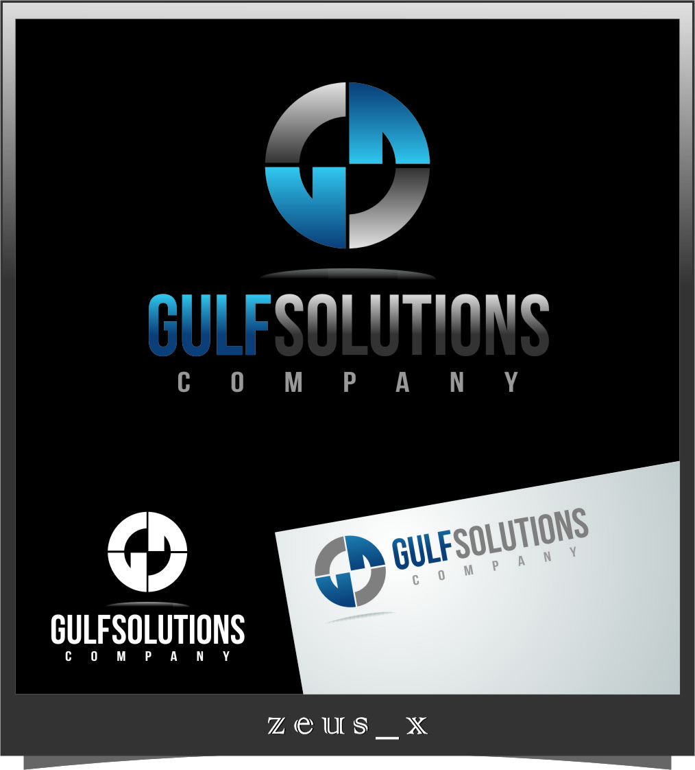 Logo Design by Ngepet_art - Entry No. 64 in the Logo Design Contest New Logo Design for Gulf solutions company.