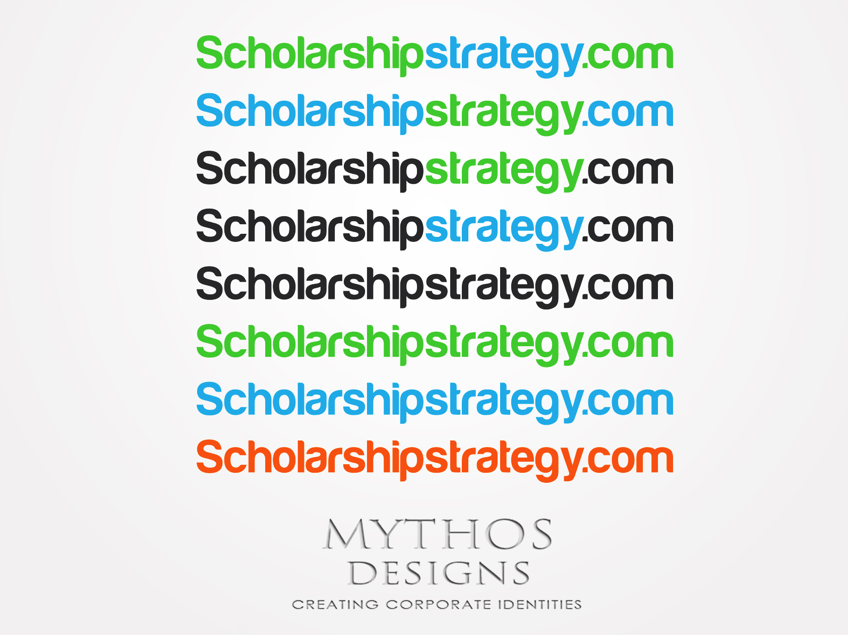 Logo Design by Mythos Designs - Entry No. 198 in the Logo Design Contest Captivating Logo Design for Scholarshipstrategy.com.