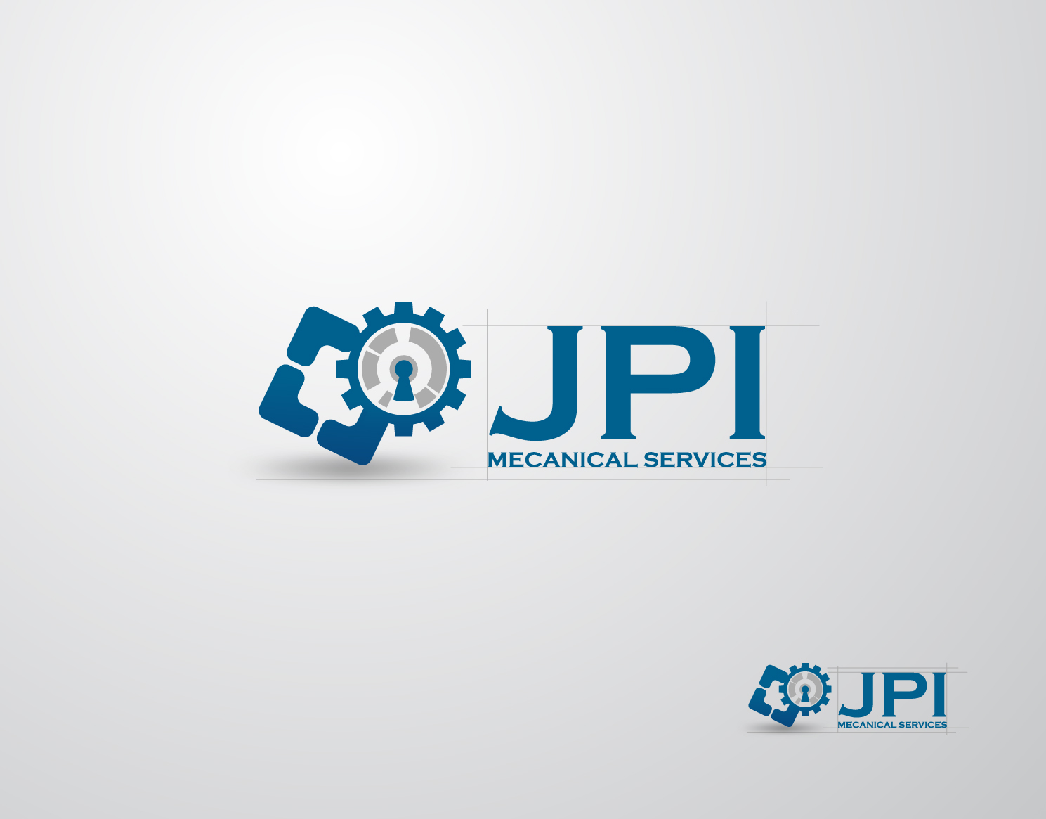 Logo Design by Mark Anthony Moreto Jordan - Entry No. 32 in the Logo Design Contest Inspiring Logo Design for JPI Mecanical Services.